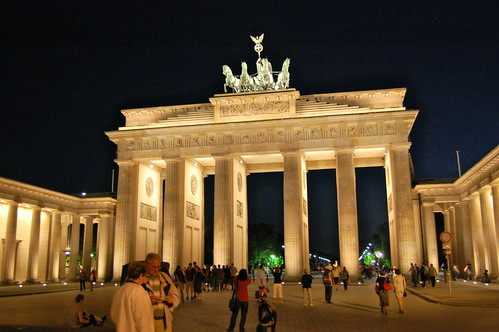 Brandenburg Gate, Berlin por Tobi_2008.
