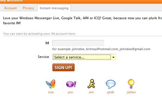 plurk messenger