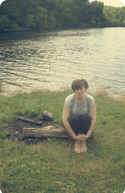 Me by the lake