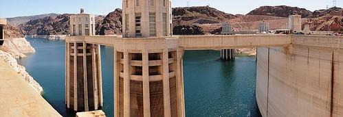 Hoover Dam, Upstream