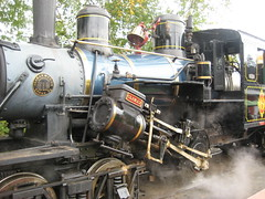 The Climax locomotive