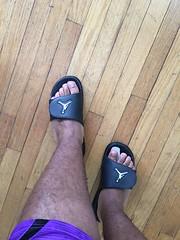 IMG_7128 (_bagent1) Tags: myfeet boyfeet chubbyfeet barefeet bearfeet thickfeet chubbytoes chubby chubbysoles soles slides sandals tops toes