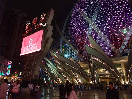 GRAND LISBOA in MACAU
