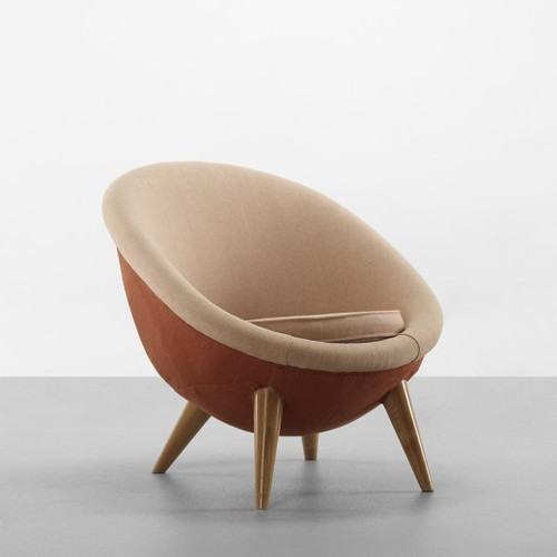 Jean Royere, Oeuf Grande lounge chair