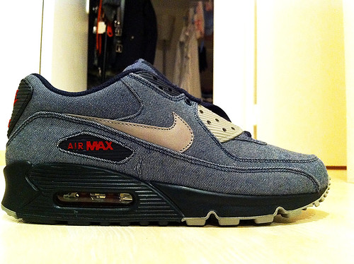 "Nike Air Max 90 "" DENIM BLUE """