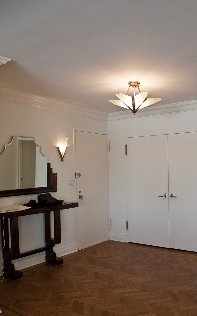 Entry Furniture and lighting