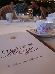 Menu of Queen Mary