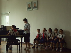 Children playing piano (ninjawil) Tags: delete10 delete9 delete5 delete6 delete7 north save3 delete8 delete3 korea delete delete4 save save2 save4 pyongyang dprk criticismwelcome