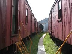 Old rail cars (mister_fusarium) Tags: baby museum railway winnie