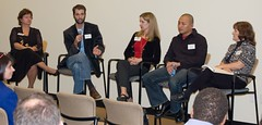 The Panel on Search Engine Marketing during Q&A