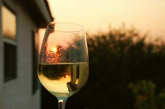 Sunset Cocktail Hour Last Night (merriewells) Tags: wowiekazowie