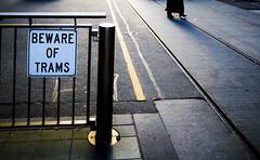 urban peril (a100years) Tags: delete10 delete9 delete5 delete2 delete6 delete7 melbourne delete8 delete3 delete delete4 trams