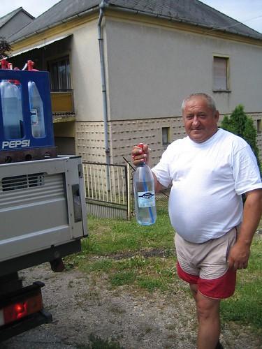 spritzer delivery man