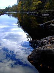 River Ericht Reflections, 041007_3_1000pix (Shandchem) Tags: reflections river scotland soe blairgowrie naturesfinest ericht goldstaraward rnbericht