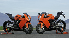 V-twin twins (the tefts) Tags: twins ktm stealth vtwin radar superbike vpower rc8