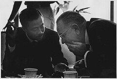 Vice President Nguyen Cao Ky (South Vietnam) and President Lyndon B. Johnson, 02/08/1966
