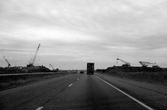 texas highway on thanksgiving