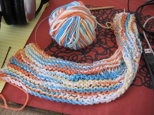 Dishcloth, getting there