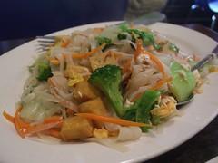 Vegetable Pad Thai - Derby Thai (avlxyz) Tags: food casio thai vegetarian noodles padthai exilim stirfry z850 derbythai