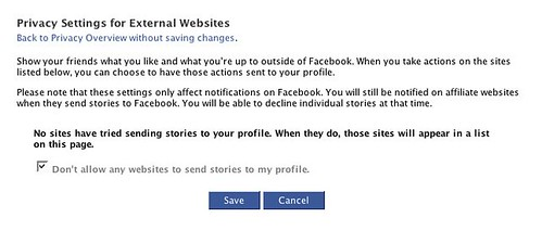 Opt-Out of Facebook Beacon
