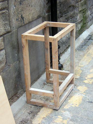 奇怪的木框