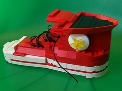 converse (monsterbrick) Tags: shoe lego converse taylor chuck shoelace moc hightop creationsforcharity2010