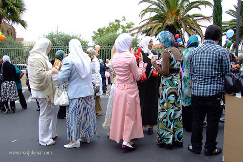 Eid al-Fitr at IIOC on Oct. 12, 2007