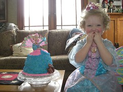 Barbie the Island Princess and her little cake too.