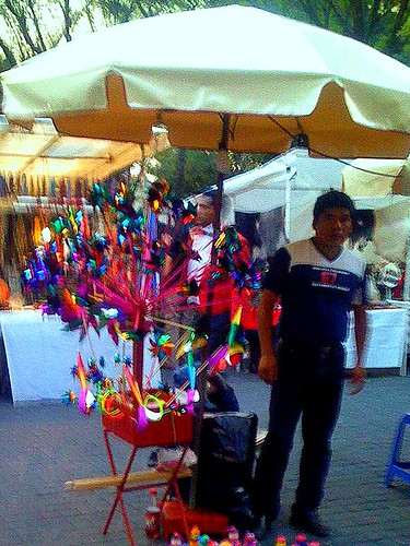 Street Vendor in mexico City