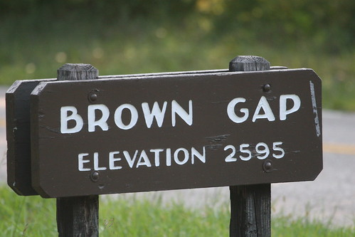 Brown Gap Sign