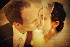 Emotions (Marta Potoczek) Tags: wedding groom bride kiss veil romantic d3 lub aplusphoto