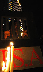 Anti-I.S.A. vigil