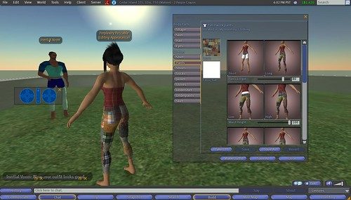 Second Life: Making Clothes: 14 - Repeat Process With Other Garments