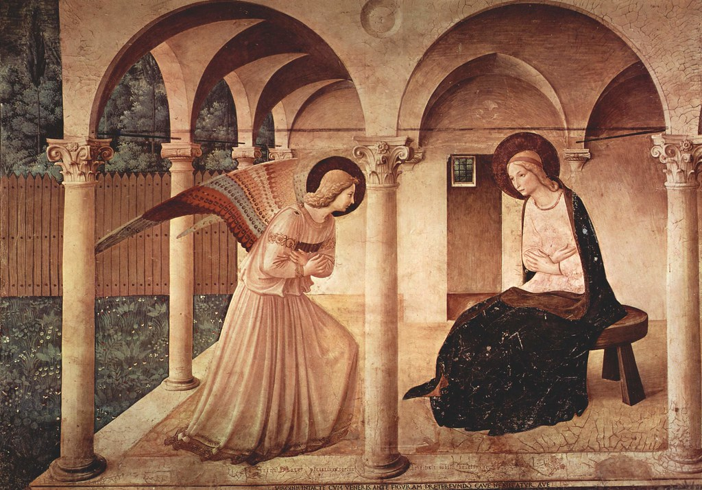 ANGELICO, Fra Annunciation 1442-43
