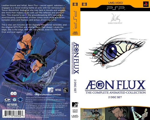 Aeon Flux for the PSP