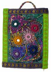 Shisha 3 (Karen Cattoire) Tags: original abstract art handmade originalart creation fabric fiberart tissu abstrait windmillsspirals textiledart karencattoire fibretextile arttexilte
