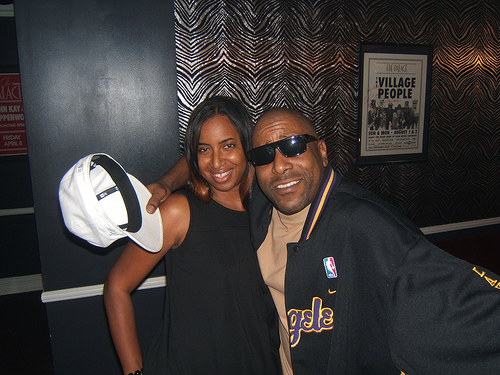 Yasmeen & Tone Loc at Urb Party