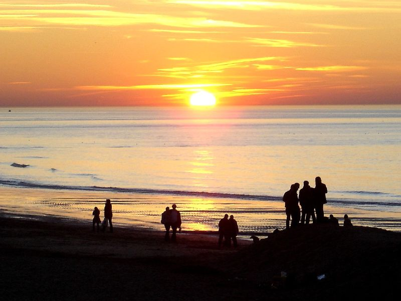 Sunset uncompressed
