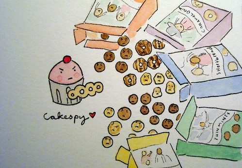 Cupcake Vs. Girl Scout Cookies