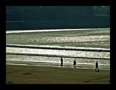 (vecinodelquinto!) Tags: mar playa arena olas siluetas tranquilidad ltytr2 ltytr1 ltytr3