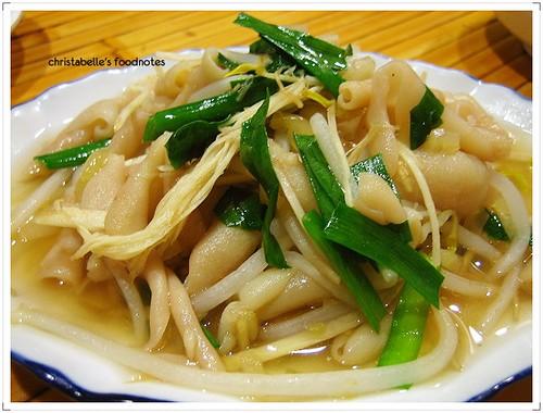 台灣鵝肉食堂鵝腸