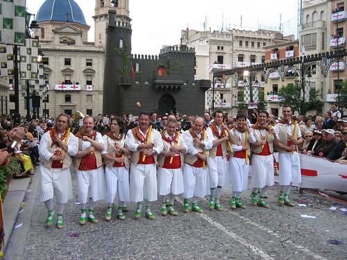 Esquadra Maseros - Moros y Cristianos Alcoy