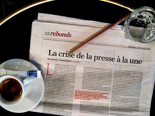 La crise de la presse