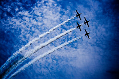 . . (Shemer) Tags: sky clouds plane airplane army israel telaviv airplanes planes independenceday shemer  aerialdemonstration   shimritabraham