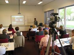 Themabijeenkomst videoconferencing