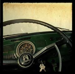 Auto del popolo. (Adriano.) Tags: party italy texture photoshop canon vintage bug germany volkswagen
