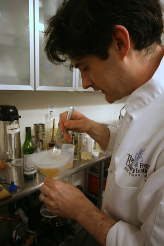 Dave Arnold mixing a drink