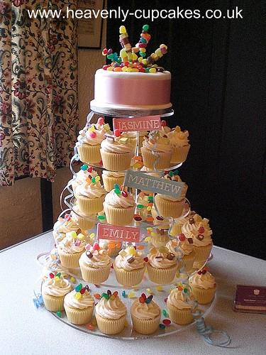 Childrens Birthday Sweetie Cupcakes