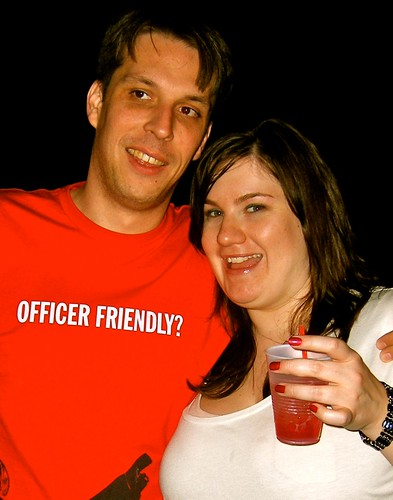 Greg & Jessica at Dinos'