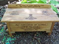 Asatru Drawer Altar (dragonoak) Tags: altar asatru